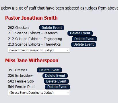 Judge Signup